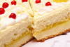 sponge cake - photo/picture definition - sponge cake word and phrase image