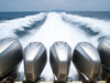 speed boat engines - photo/picture definition - speed boat engines word and phrase image