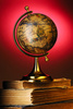 antique globe - photo/picture definition - antique globe word and phrase image
