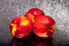 nectarines - photo/picture definition - nectarines word and phrase image