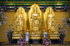 golden Buddha statue - photo/picture definition - golden Buddha statue word and phrase image