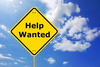 help wanted - photo/picture definition - help wanted word and phrase image