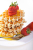 breakfast waffles - photo/picture definition - breakfast waffles word and phrase image