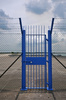 steel gate - photo/picture definition - steel gate word and phrase image