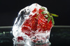 frozen strawberry - photo/picture definition - frozen strawberry word and phrase image