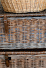wicker washing baskets - photo/picture definition - wicker washing baskets word and phrase image