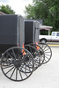 Amish carriages - photo/picture definition - Amish carriages word and phrase image