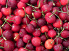 juicy cherries - photo/picture definition - juicy cherries word and phrase image