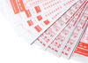 lottery tickets - photo/picture definition - lottery tickets word and phrase image