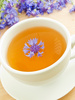 cornflower tea - photo/picture definition - cornflower tea word and phrase image