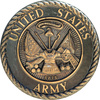 US Army commemorative plague - photo/picture definition - US Army commemorative plague word and phrase image